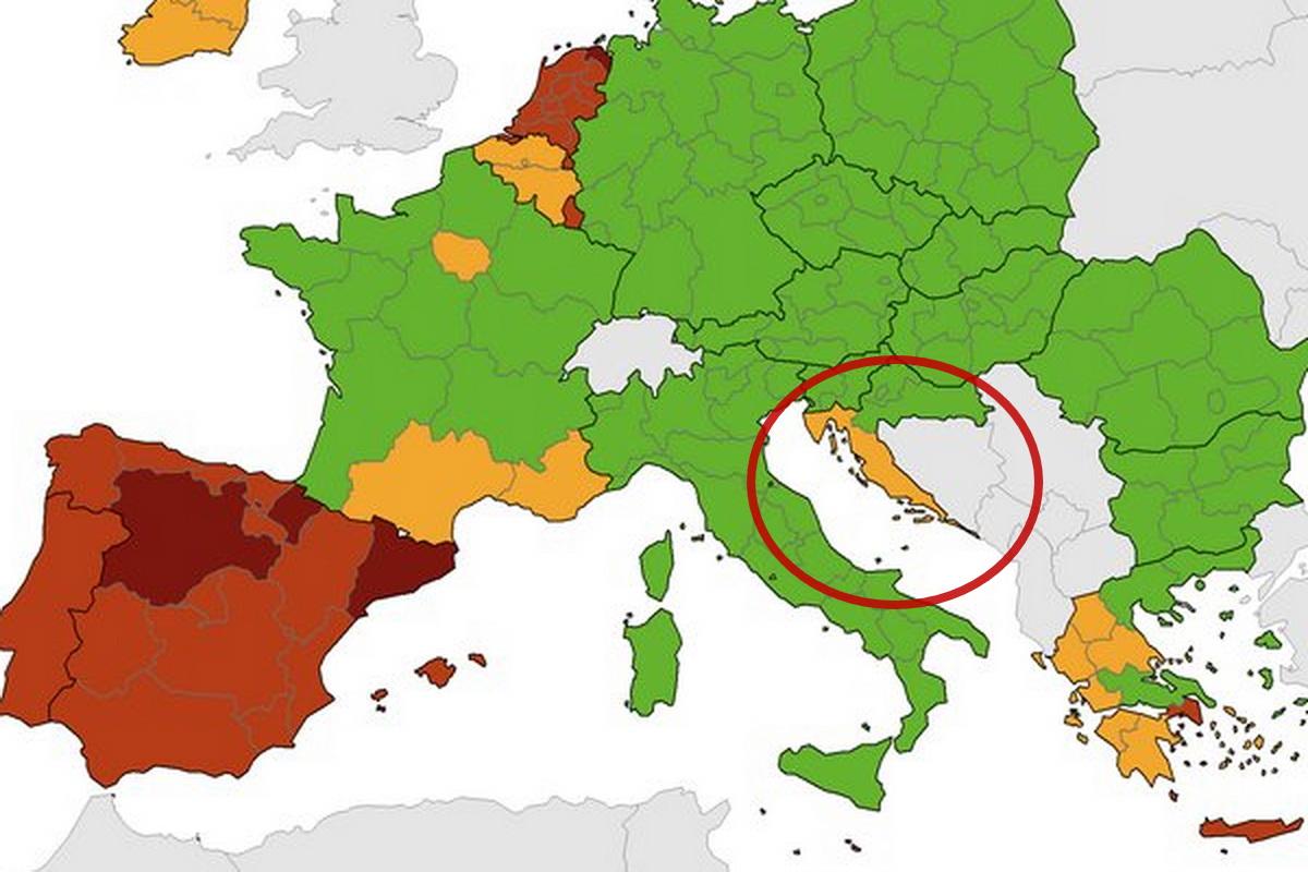 Már nem zöld! Romlott az egész horvát tengerpart besorolása