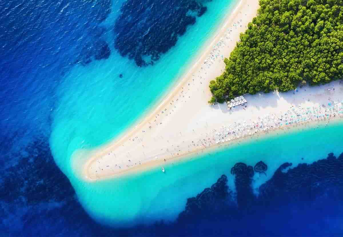 Végre! Már 25-26 fokos a tenger Horvátországban