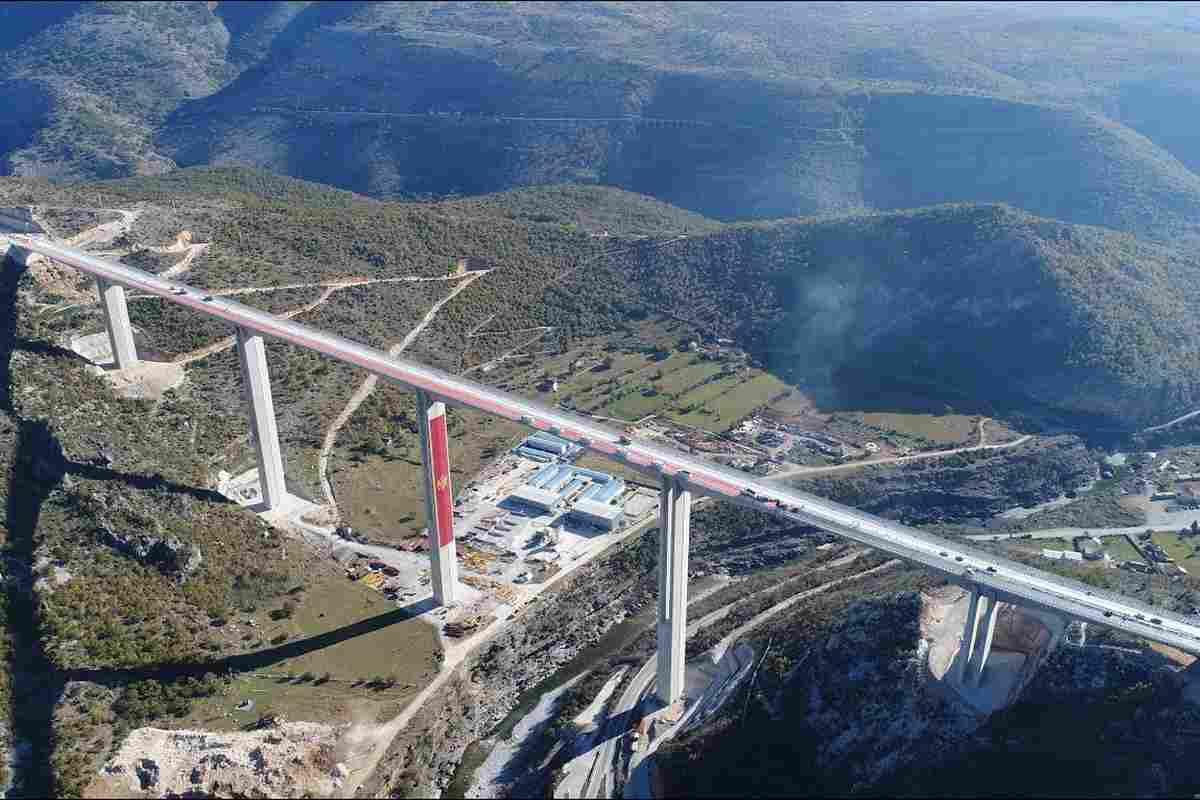 Bajban Montenegró, túl drága az épülő autópálya