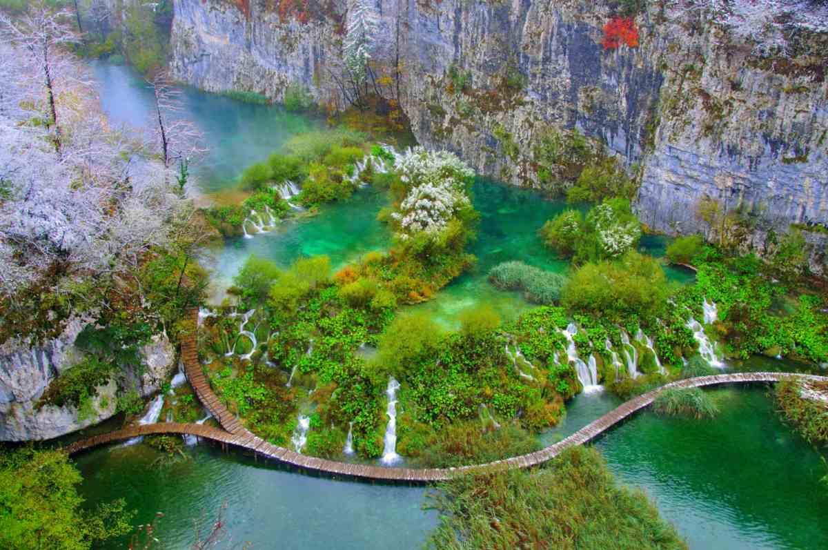 Plitvicei-tavak: csendben szépen megemelték a belépő árát