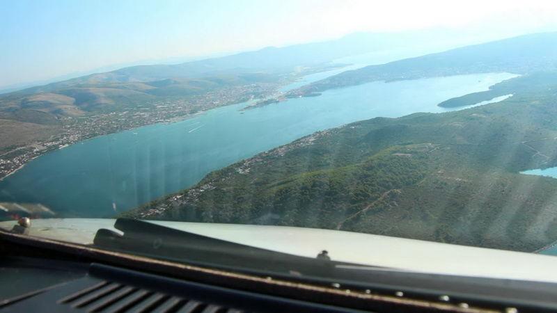 Ilyen a landolás Split repülőterén